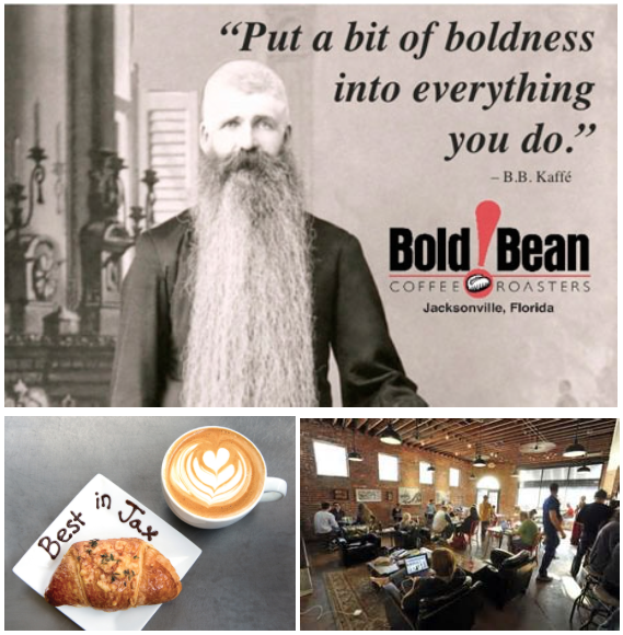 Congrats to Bold Bean Coffee Roasters for winning Jacksonville Magazines Best in Jax 2015 !!