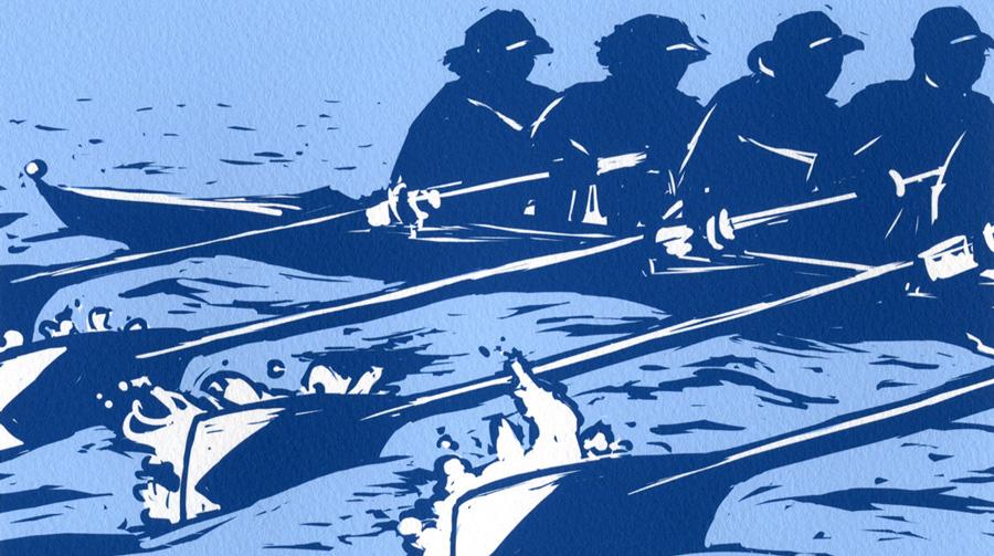 Rowers Rowing Katharine Woodman-Maynard