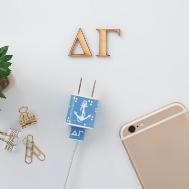 MEO goes Greek! MEO (shopMEO) is an officially licensed vendor, and is proud to support not just strong sisterhoods, but the commitment to philanthropy, and making our world a better place.  Seen here are MEO's designs for Delta Gamma - decals for your iPhone chargers! Swipe to see all. MEO is dedicated to social responsibility and supports Delta Gamma's mission to do good.  We donate a portion from each sale to organizations that have a positive impact on people's lives. Now through December 15th, save 35% off of your order with code THANKYOU35 #sisterhood #deltagamma @deltagamma_eo #dogood #keepcharged #youreincharge #iphoneaccessories #payitforward #gratitudeistheattitude