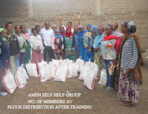 1-Amen Self Help During Flour Distribution.JPG