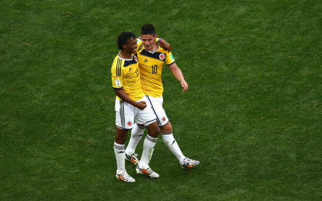 Juan-Cuadrado-James-Rodriguez-Colombia
