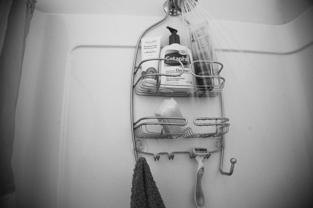 pre-op soap-up.