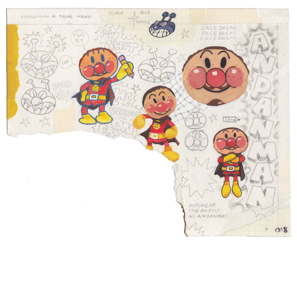 Self Portrait as ANPANMAN