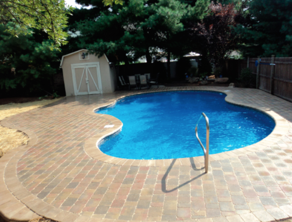 Pool pavers, travertine pool pavers  in Morris, Bergen, Passaic, Union, Warren, Hunterdon, Somerset.
