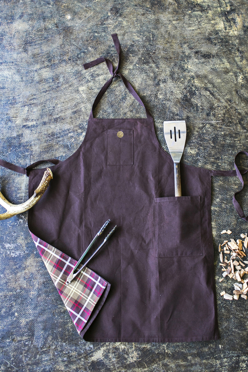 Wax Canvas Grilling Apron