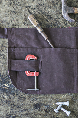 Waxed Canvas Craftsmans' Apron