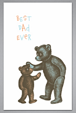 """Best Dad Ever"", Breathless Paper Co."