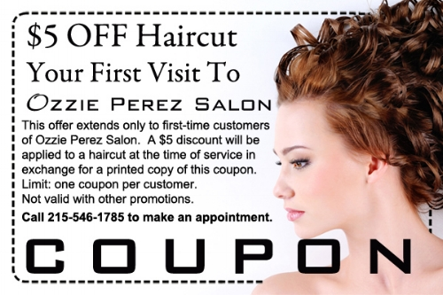 First Haircut Coupon