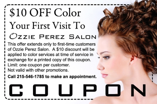 First Color Service Coupon