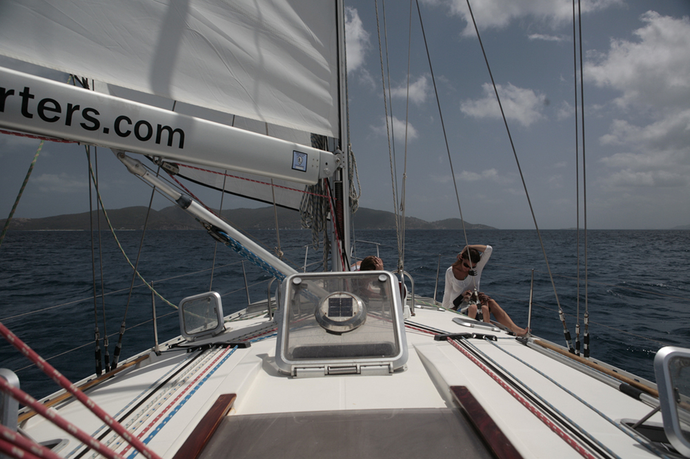 Sail the USVI and BVI
