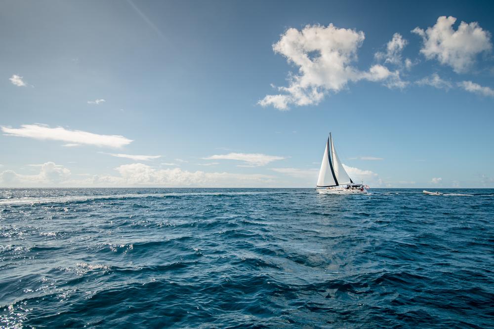 Sailing in St. John