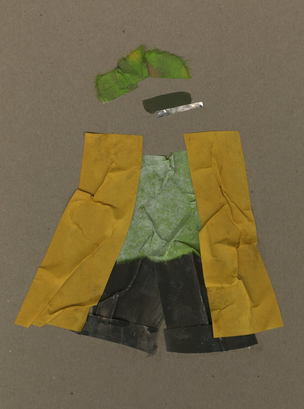 Autumn Squash   Gouache and Collage  2016