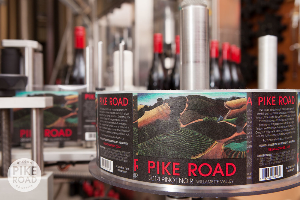 Our Pike Road labels