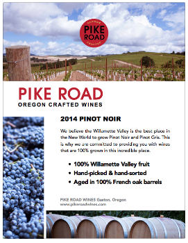 pinot noir case card 8.5x11