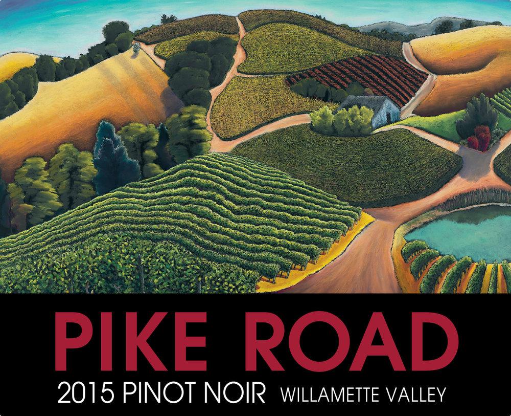 2015 Pinot Noir Label