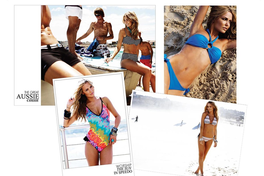 SPEEDO LIFESTYLE SWIMWEAR LAUNCH CATALOGUE PAGES