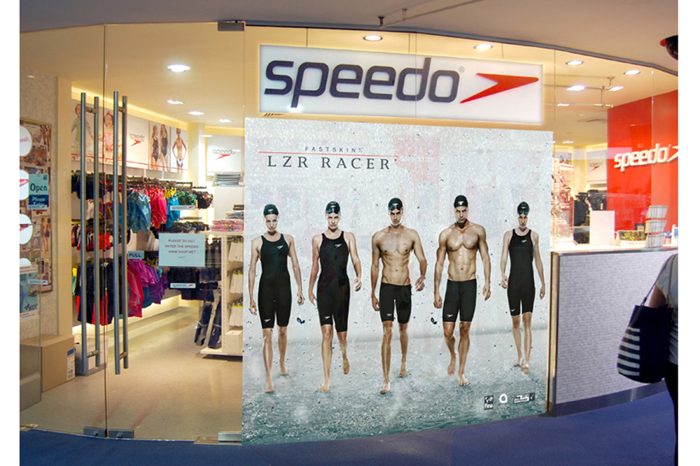 SPEEDO OLYMPICS LZR RACER LAUNCH
