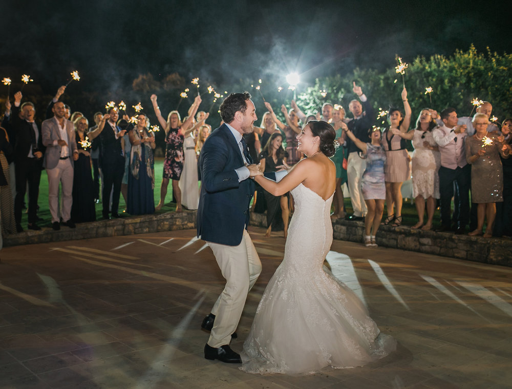 Wedding first dance in Puglia