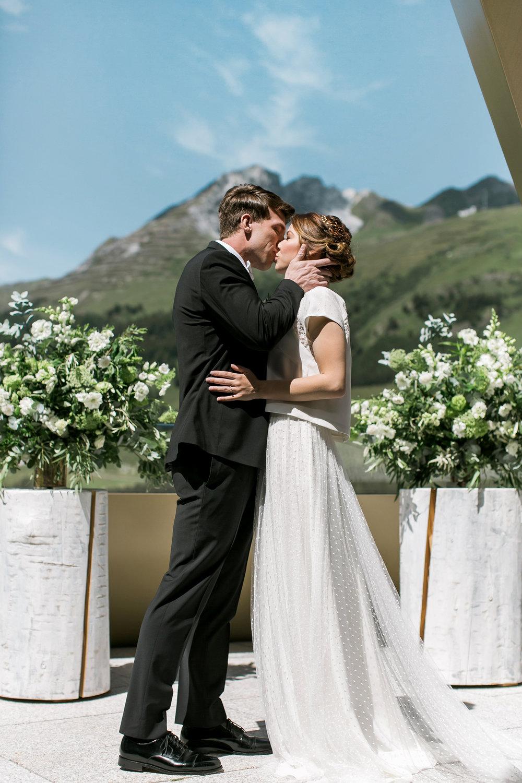 Switzerland mountain elopement photographer