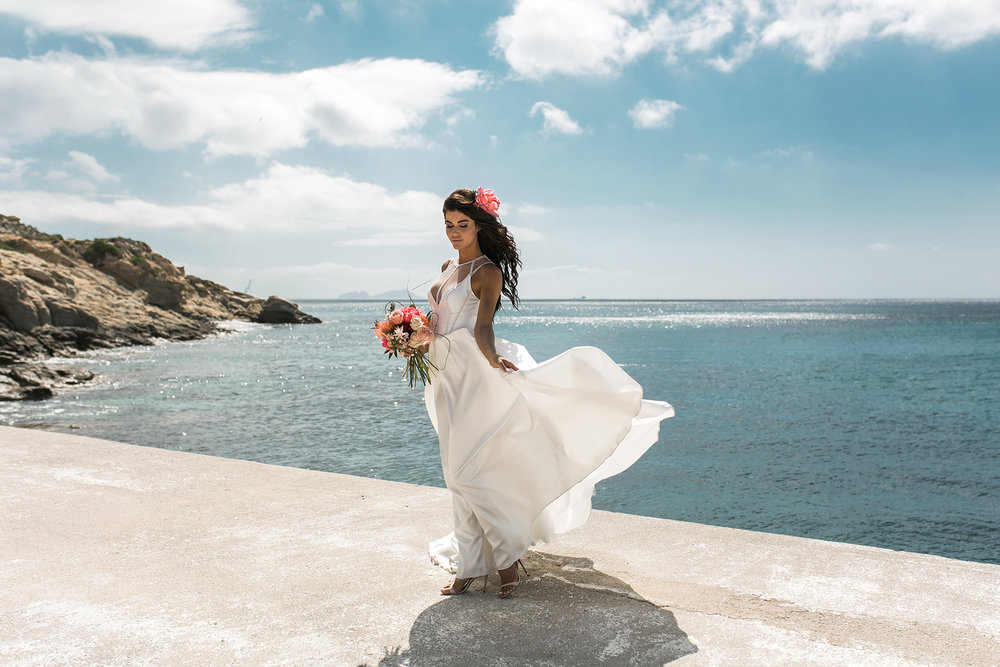 Bridal fashion campaign photographer