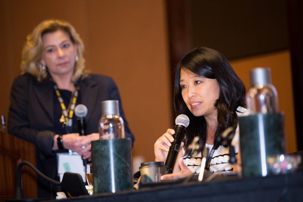Chenxi Wang @ ISSA-LA Summit 8 |Photo By Adrien Delstanche