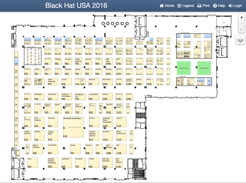 Black Hat USA 2016 Business Hall