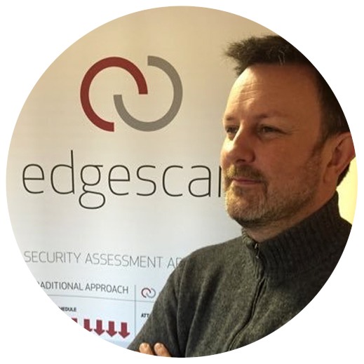 Eoin Keary, Founder and CTO at BCC Risk Advisory / Edgescan