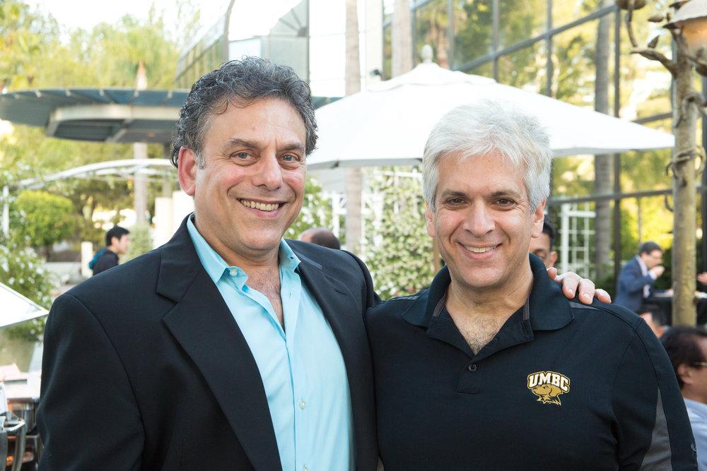 Richard Greenberg (L) and Ira Winkler (R)