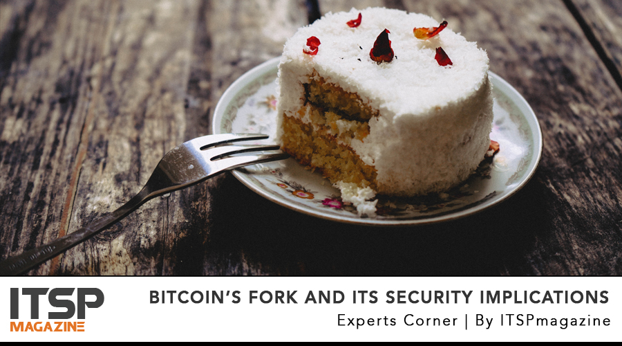 Bitcoin's fork and its security implications .jpg