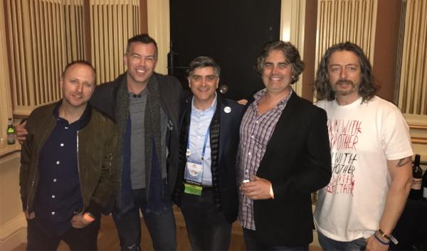 (Left to Right)Jason Hoenick, Chad Loder, Sean Martin, Nick Vann, Marco Ciappelli