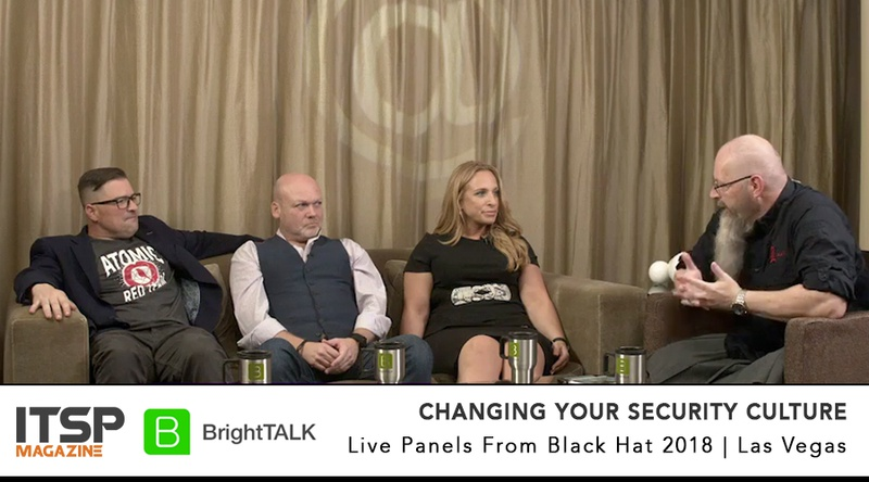 Changing Your Security Culture     Moderator:  Chris Roberts (Lares)  Panelists:  Rick McElroy (Carbon Black) | Shira Rubinoff (SecureMySocial) | Thom Langford (Publicis Groupe)