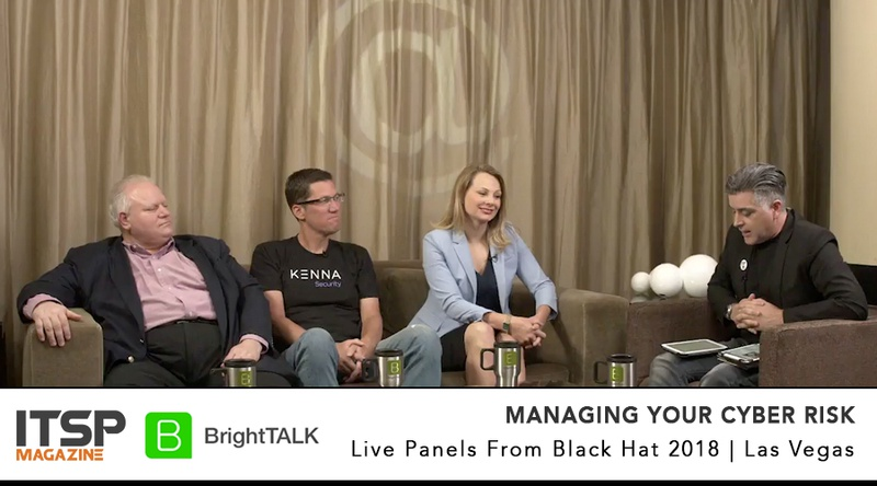 Managing Your Cyber Risk     Moderator:  Sean Martin  Panelists:  Ed Bellis (Kenna Security) | Marzena Fuller (SignalFx) | Joseph Kucic (Cavirin Systems)