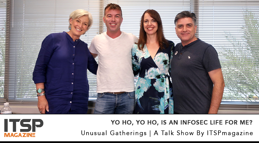 Yo ho, yo ho, is an InfoSec life for me?     There are things that must be said about this industry and we are going to say them.   With: Gary Hayslip, Karen Worstell, Chad Loder | Selena Templeton and Sean Martin
