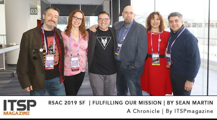 RSAC 2019 SF  _ Fulfilling our Mission _ by Sean Martin.jpg