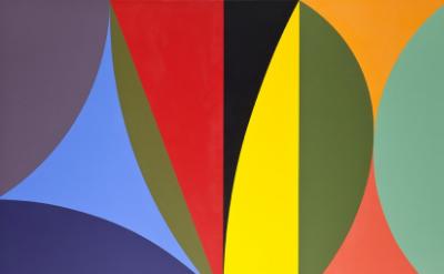 Color Meditation  acrylic on canvas 40 x 60