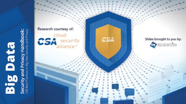Cloud Security Alliance 10 Ways To Achieve Access Control For Big Data Imsmartin