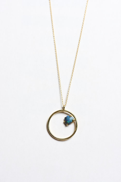 products circle sterling necklace silver pendant grande oxidized with