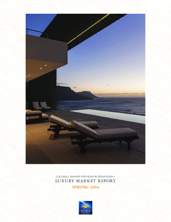 Luxury market report- Spring 2016