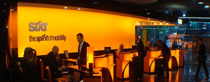 Refit of the Sixt Sales area of the Park Lane Hilton