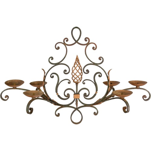 French antiques store furniture art ceramics winter park fl french wrought iron chandelier aloadofball Gallery