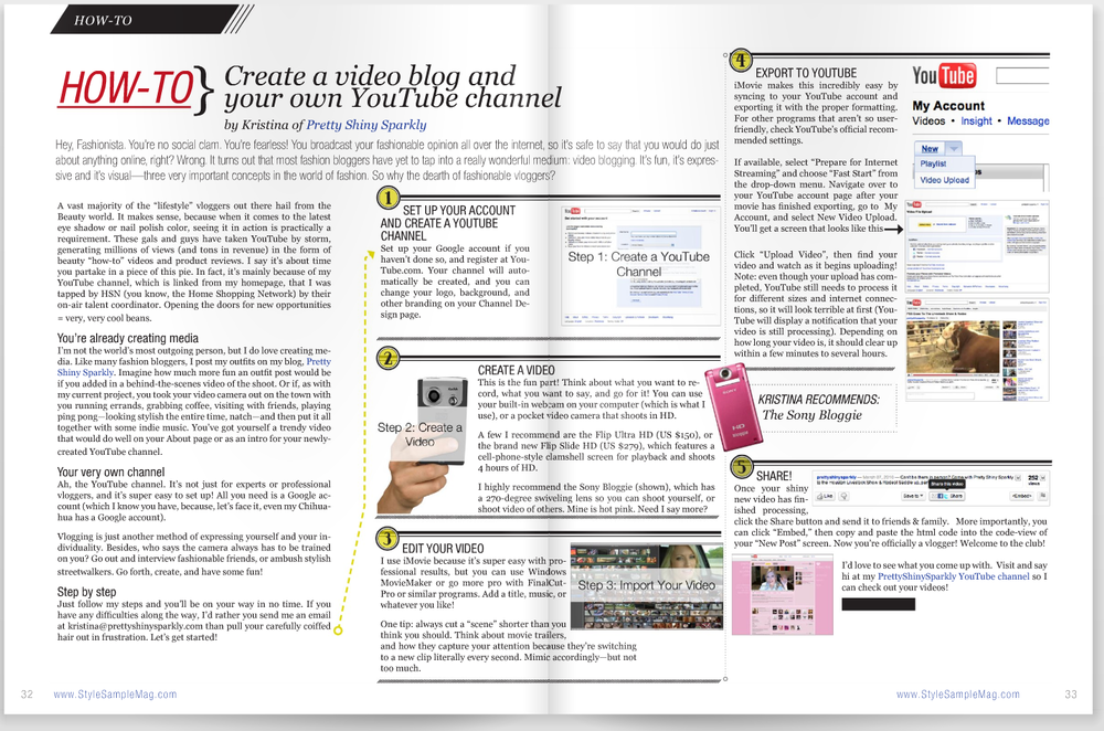 How to create a video blog and your own YouTube channel