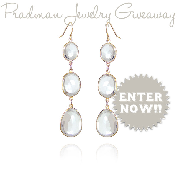 Pradman Jewelry Earrings Giveaway