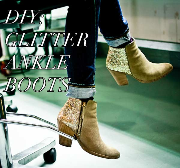 diy-glitter-ankle-boots