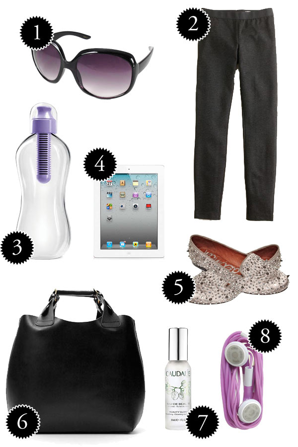 Airplane essentials -- What to pack