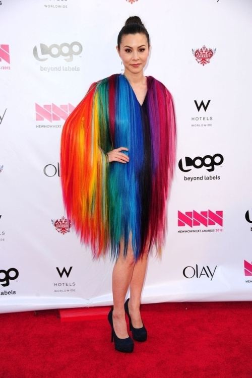 april fools rainbow dress worst dressed