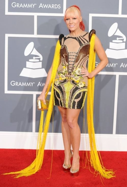 april fools worst fashion post yellow fringed dress