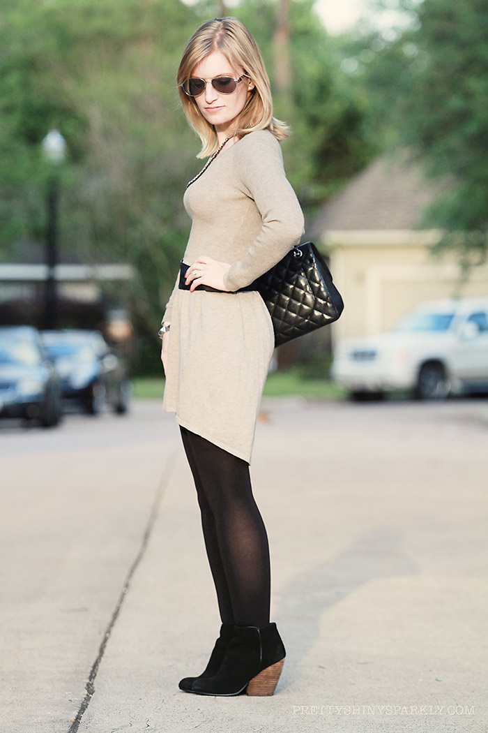 grey_dress_high_low_black_boots_chanel_purse1sm