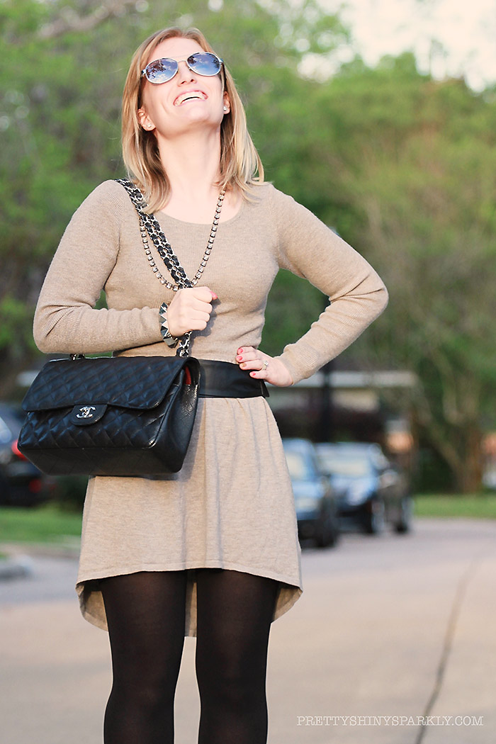 grey_dress_high_low_black_boots_chanel_purse4sm