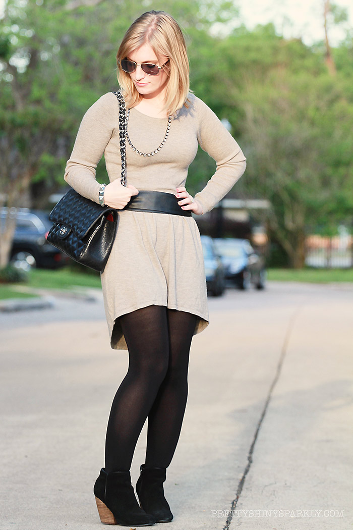 grey_dress_high_low_black_boots_chanel_purse5sm