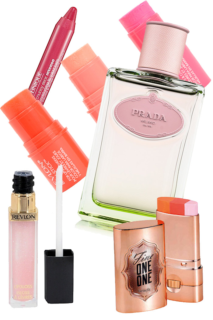 Spring beauty benefit fine one one revlon baby stick prada infusion d'iris